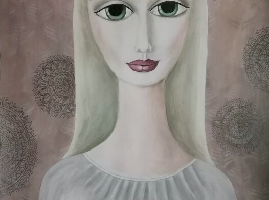 Dziewczyna z sarenką