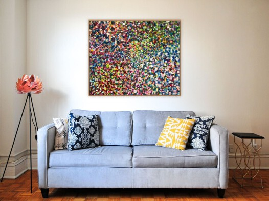 All colors of life  100x120 cm