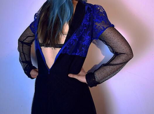 Koronkowa suknia l