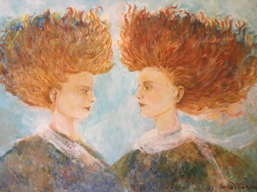 """""""Two Ladies"""""""