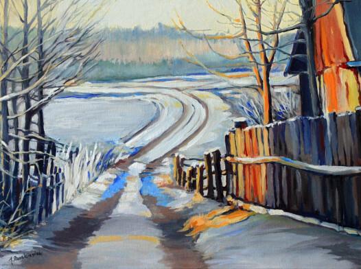 Zima na Podlasiu