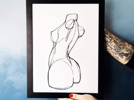 Plakat Body A3