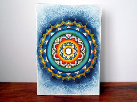 """Mandala """"Sun Universe"""""""