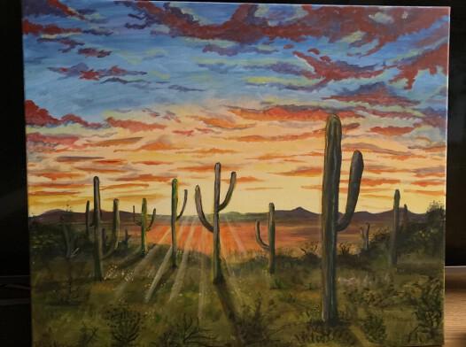 Obraz akrylowy Dziki zachód